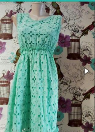 Красивое платье натуральная ткань