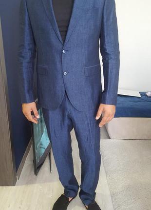 Стильный мужской костюм fabio paoloni