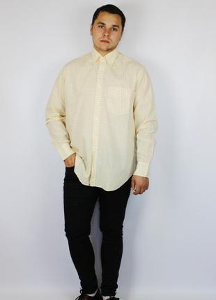 2b8ad561f4a Желтые мужские рубашки в клетку 2019 - купить недорого мужские вещи ...