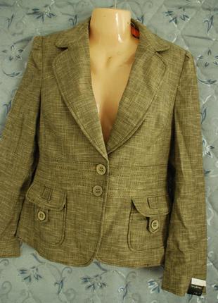 Натуральный пиджак