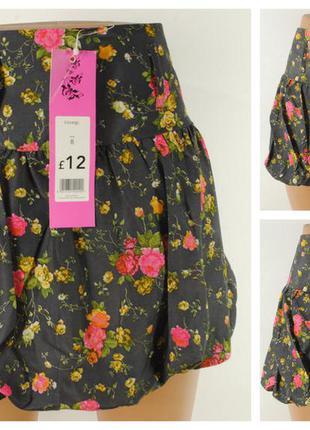 Летняя юбка george  размер 42/44 (8) новая