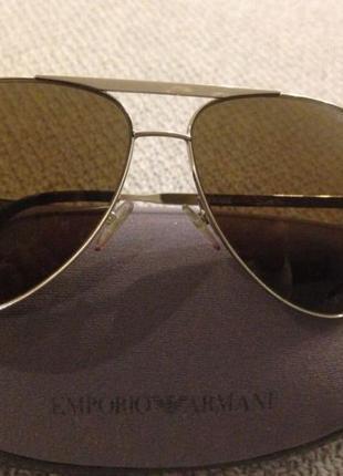 Emporio armani, солнцезащитные очки, оригинал!