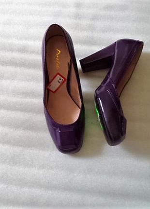 Эко!лаковые туфельки на золушку и узкую ножку portfolio