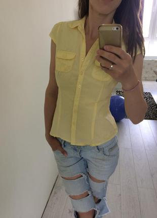 Рубашка с короткими рукавами amisu