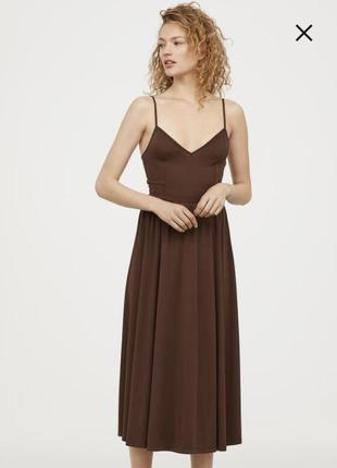 Платье миди h&m