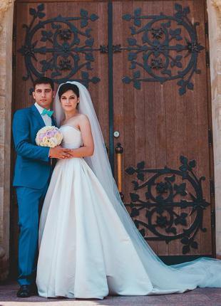 Свадебное платье pronovias dalamo. оригинал.