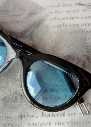 Распродажа! трендовые черные очки голубые линзы новинка унисекс для стиля имиджа имиджевые