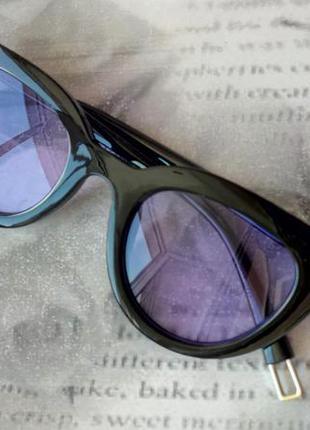 Распродажа! трендовые черные глянцевые очки цветные линзы новинка унисекс  имиджевые