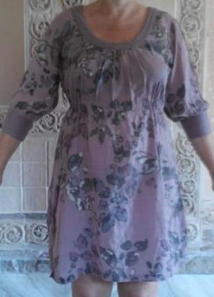 Платье летнее хлопок индия