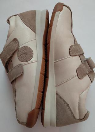 Супер удобные кожаные кроссовки на липучках для проблемных ножек pediforma р.37