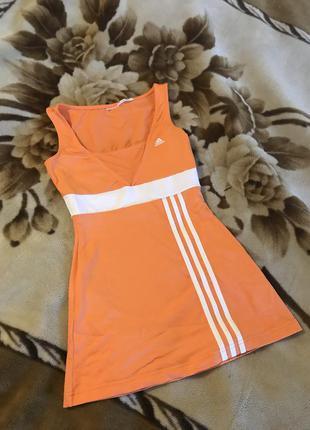 Платье туника adidas спортивное платье размер xs s