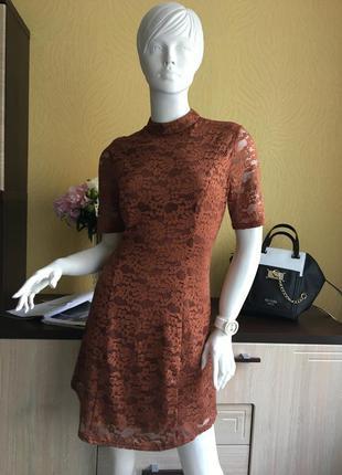 Новое шикарное кружевное платье new look