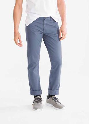 Светлые голубые мужские брюки c&a размер  34 евро на 50 наш.