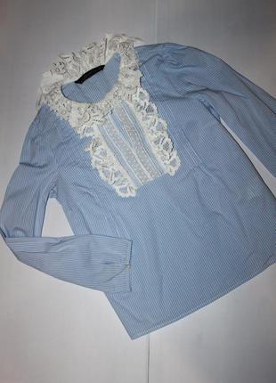 Модная рубашка зара размер хс