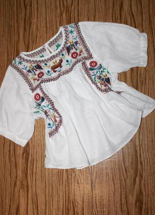 Классная блузка - вышиванка размер с-м