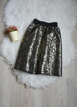 Короткая юбка в принт miss selfridge