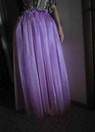 Юбка макси пачка фатиновая для свадеб девишников фотосессий