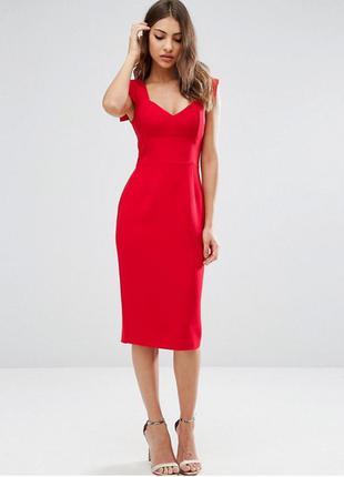 Гарячий розпродаж тільки до 15 вересня !! платье-футляр с вырезом сердечком asos