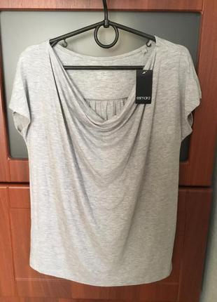 Удлинённая футболка размер 14 - 16,наш - 48 - 50
