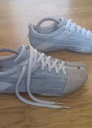 Кроссовки кеды мокасины diesel kimura sneakers, eur38, us7,5 24,5см