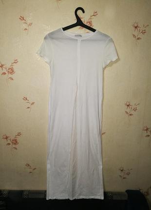 Прозрачная футболка длинная сетка сеточка из тюля с оборками длины ... 516f65b600a