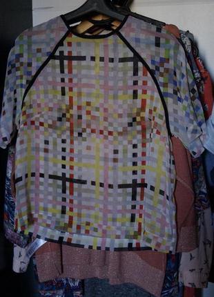 Шифоновая футболка asos