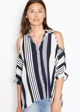 Блуза открытые плечи new look