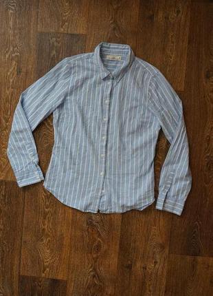 Стильная рубашка в полоску h&m