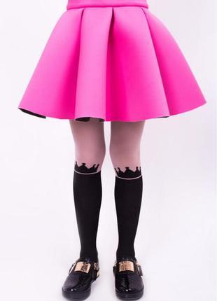 1+1=3 крутезная юбка пачка неопрен baby doll