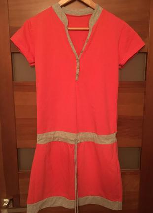 Итальянское спортивное/ежедневное платье