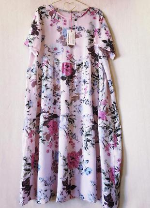 Отличное платье на лето пог 63