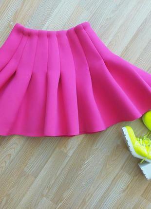 1+1=3 шикарная юбка пачка неопрен в стиле baby doll