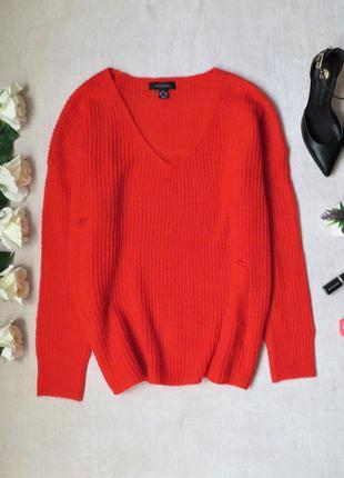 Легкий свитер оверсайз