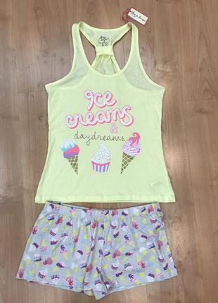 Модная и красивая пижама