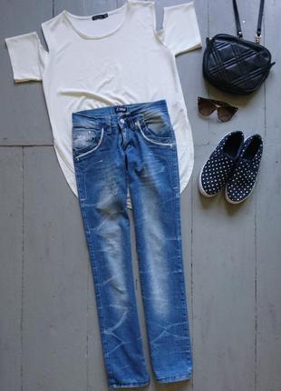 Джинсы скинни №166 armani jeans