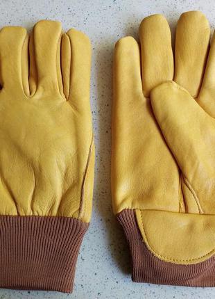 Перчатки кожаные thinsulate