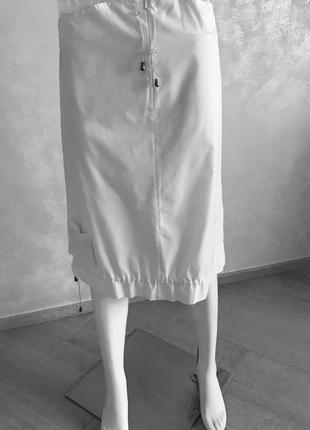 Cop copine летняя белая юбка