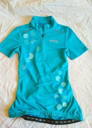 Спортивная блуза на девочку для велоспорта