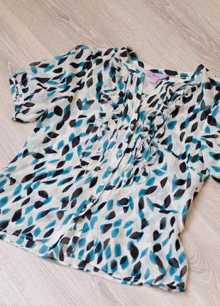 Очаровательная шифоновая блуза с рюшами от monsoon