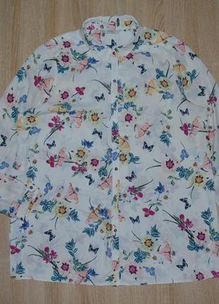 Плотна шифонова блуза george