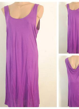 Трикотажное платье туника h&m  размер 46/48 (м)