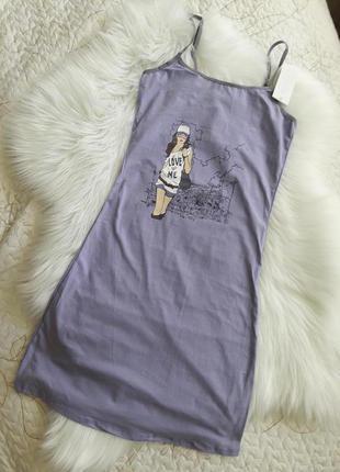 Платье- ночная рубашка с м л  lemila