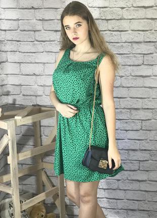 Платье new look зеленое