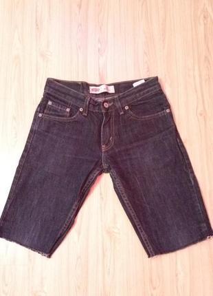 Стильные шорты,бриджи джинсовые,levis