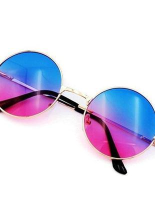 Круглые солнцезащитные очки.солнцезащитные очки.имиджевые очки.очки