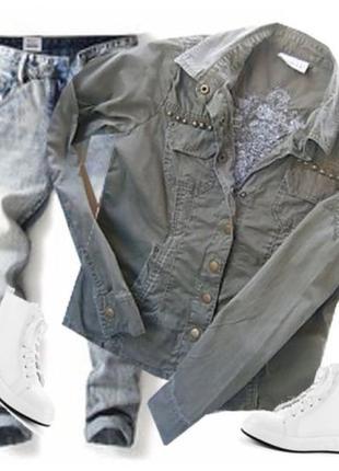 Стильная рубашка размер 40-44 бренд  yessica