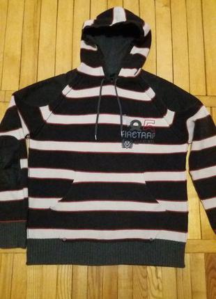 Мужской свитер-худи фирмы firetrap размер м