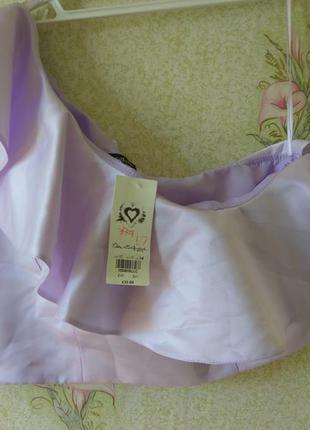 Стильная блуза на одно плечо  miss selfridge