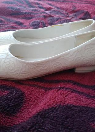 Весільні туфельки, балетки