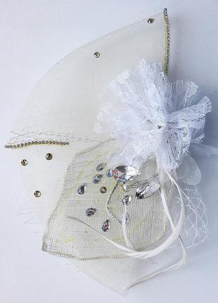 Заколка, вуалетка, гламур, стиль кати осадчей, шляпка